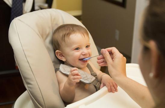 Alimentos sólidos para bebes