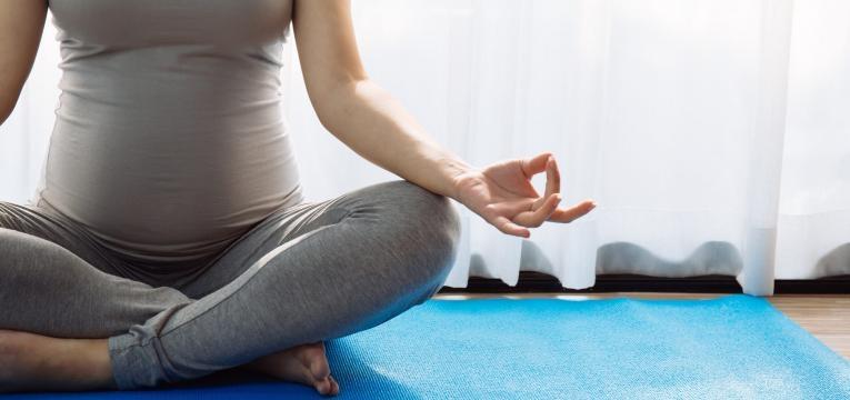 Engravidar aos 40 gravida a praticar yoga