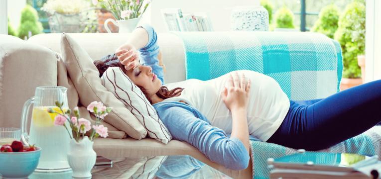 desconfortos na gravidez