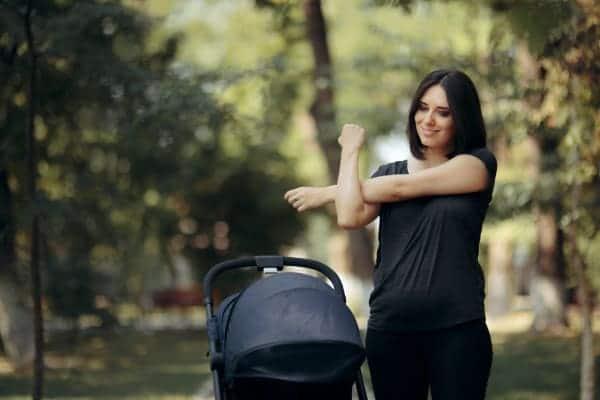 Bajar de peso después de un embarazo